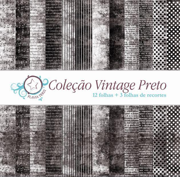 Coleção Vintage Preto