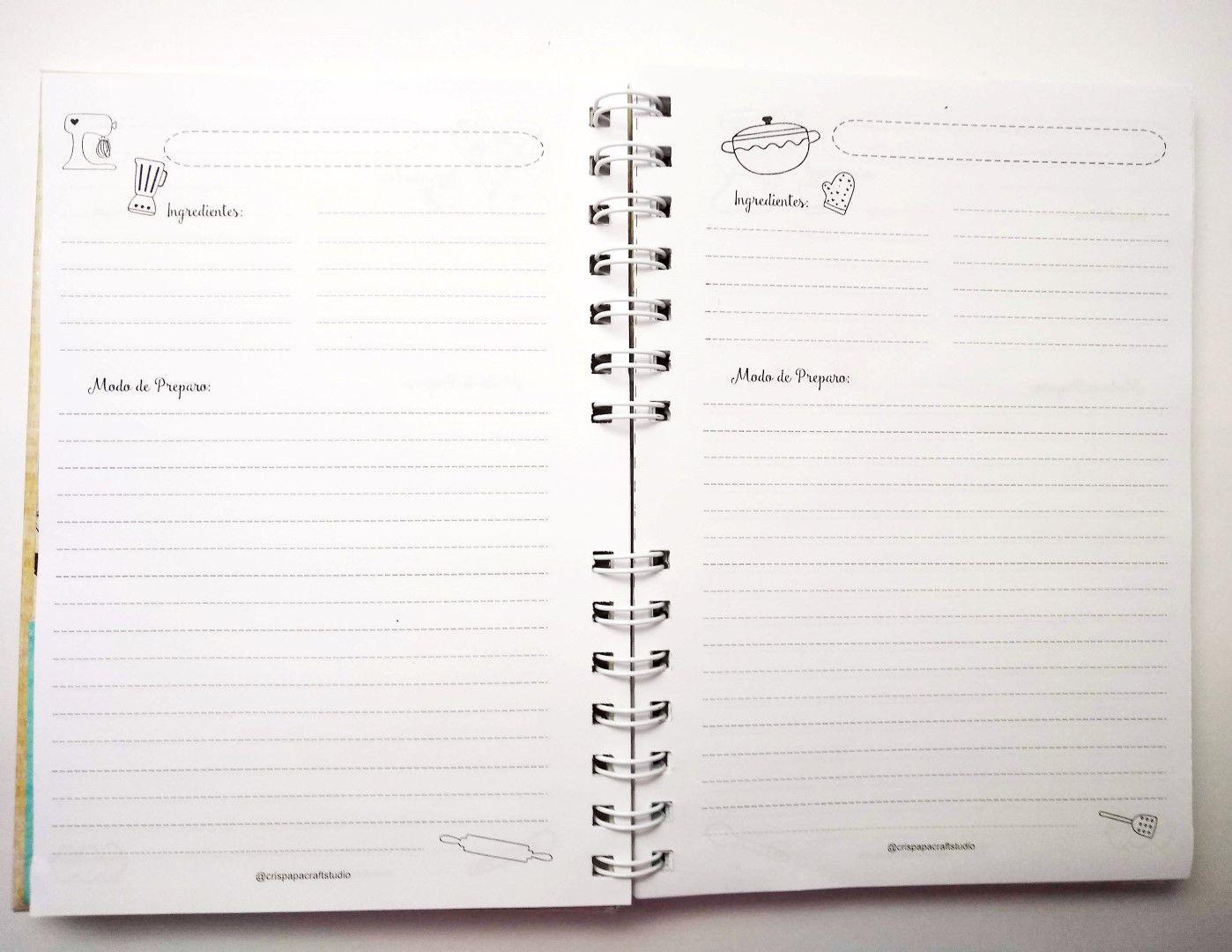 CRIS PAPA - Caderno de Receitas - On Line