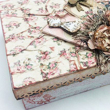 Kit Aula Scrap Decor Floral com Beth Lima - 15 de Maio as 16:00hs