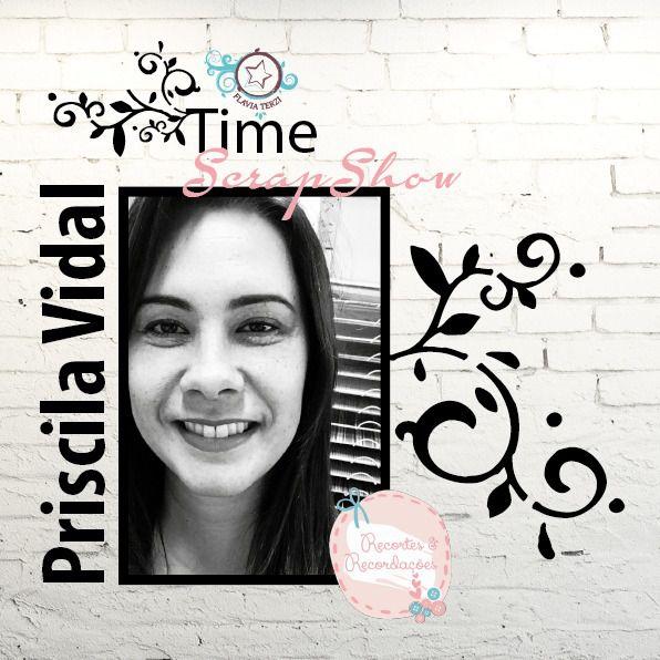 Kit Aula Time by Priscila Vidal - Dia 17 de Maio / Sexta às 14hs