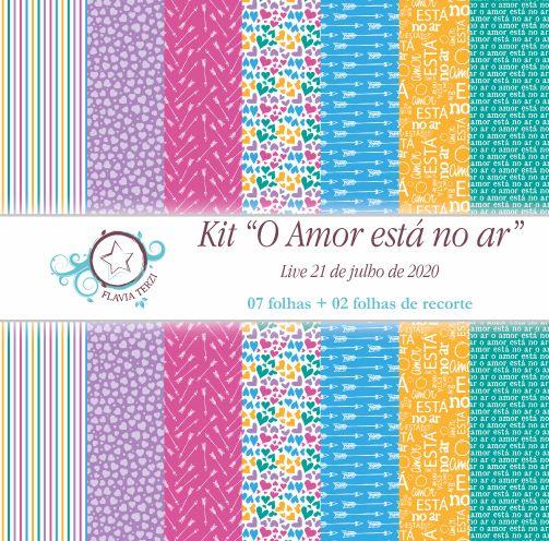 O AMOR ESTÁ NO AR - Live 21/07/2020