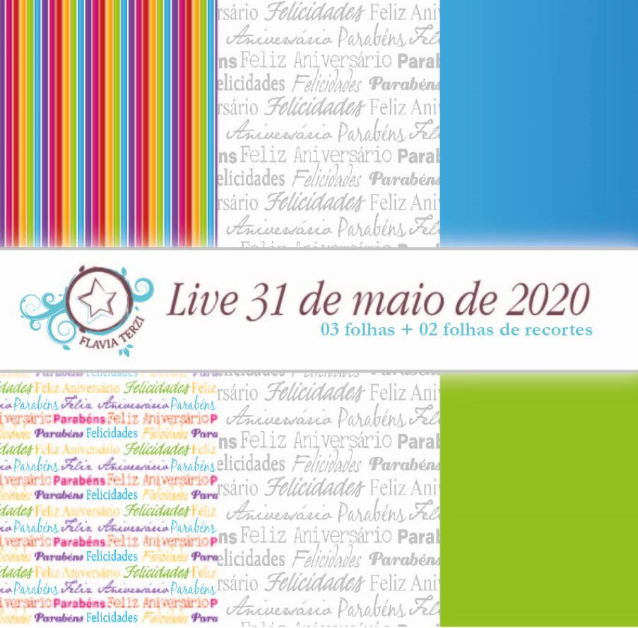LIVE 31 DE MAIO DE 2020 - ANIVERSÁRIO