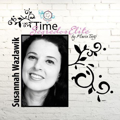 SUSANNAH WAZLAWIK - Mini-álbum mensário para bebê - On Line