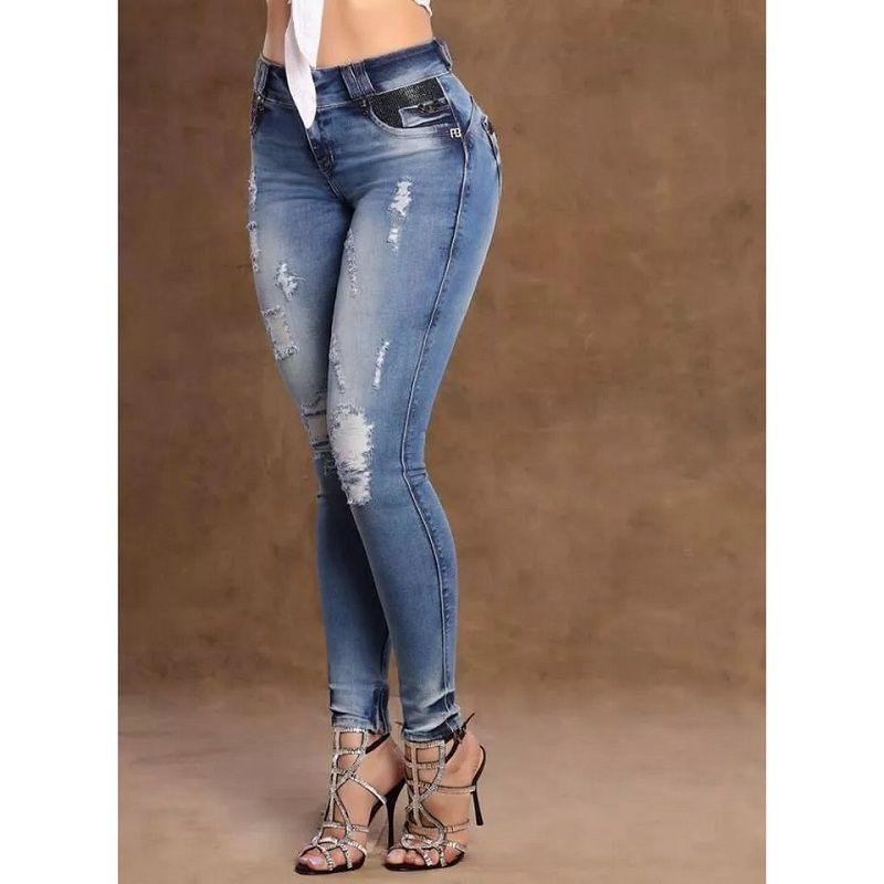 28dfa6ceb Calça Jeans Feminina PitBull Cigarrete Pit Bull 28233 - Alca Online