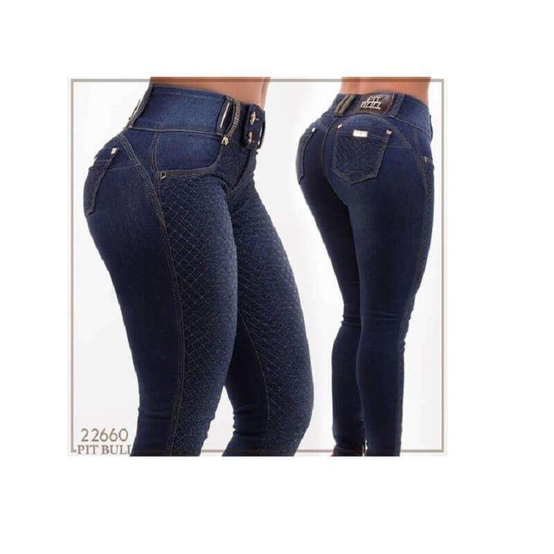 d6531288c Calça PitBull Jeans Feminina com Bojo Regulavél Pit Bull 22660 ...