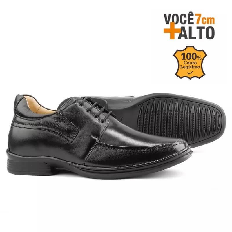 072ae62a294 Sapato Masculino Rafarillo Alth 9305 Você 7 Cm Mais Alto - Alca Online