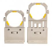 Kit de suportes para tubo laser de 80mm