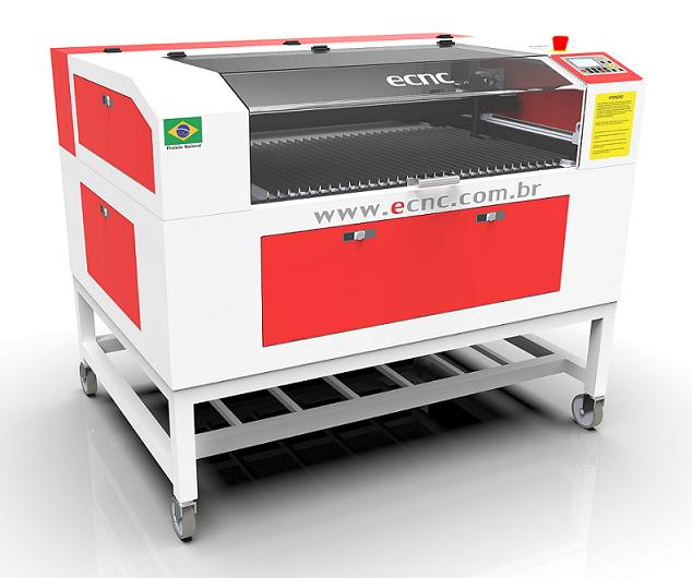 Máquina de corte e gravação a laser L-1060 90W