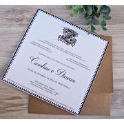 Convite Caroline e Diovan