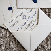 Convite Nayume e Gabriel