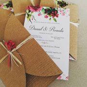 Convite Renata e Daniel