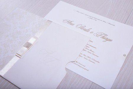 Convite Ana Paula e Thiago