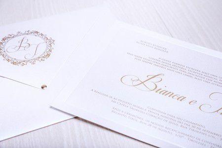 Convite Bianca e Thiago