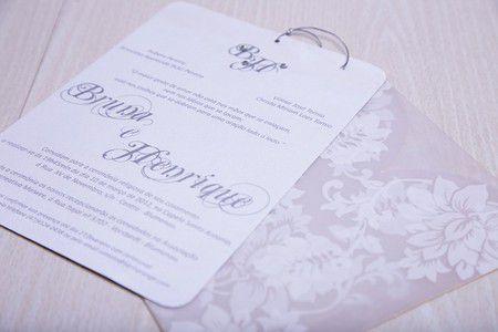 Convite Bruna e Henrique