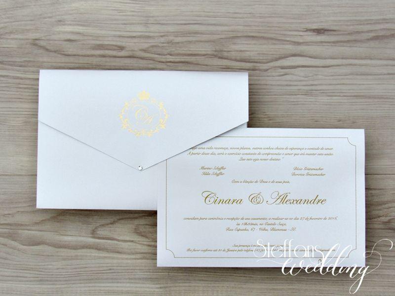 Convite Cinara e Alexandre