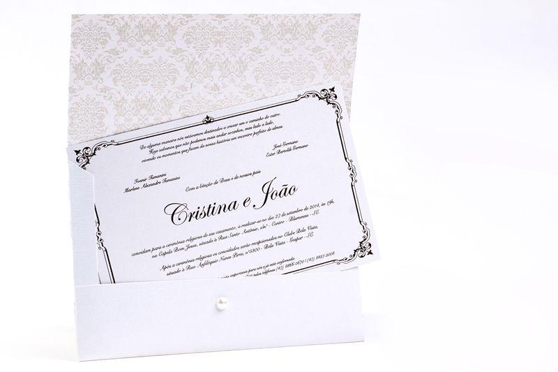 Convite Cristina e João