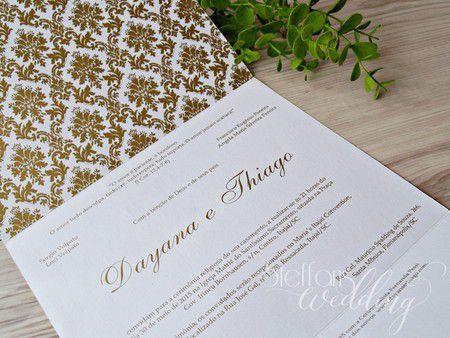 Convite Dayana e Thiago