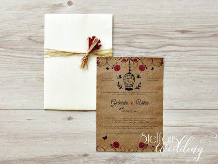 Convite Gabriela e Vitor
