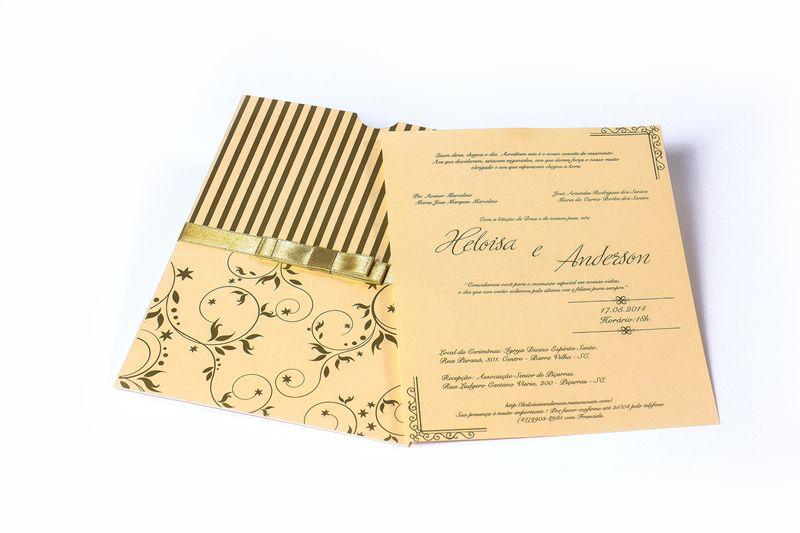 Convite Heloisa e Anderson
