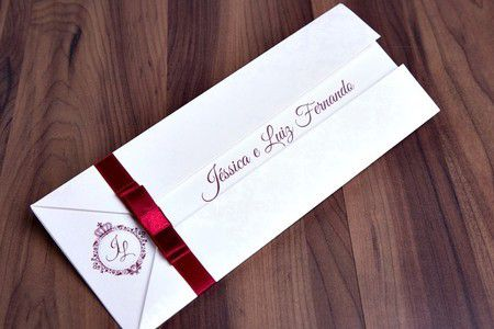 Convite Jéssica e Luiz Fernando