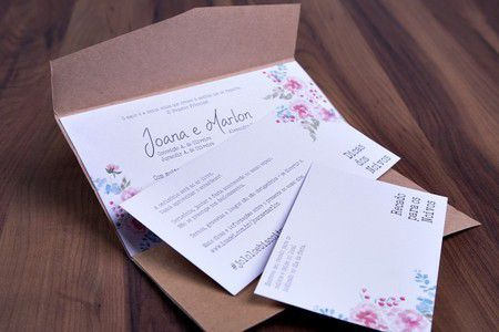Convite Joana e Marlon