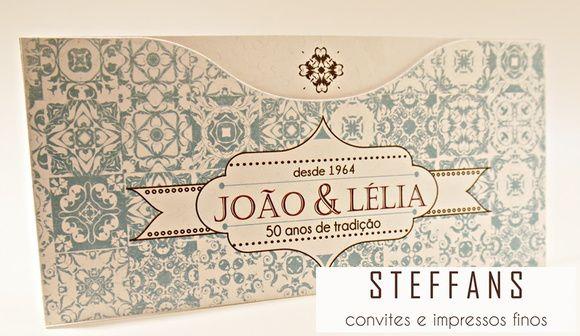 Convite Lélia e João