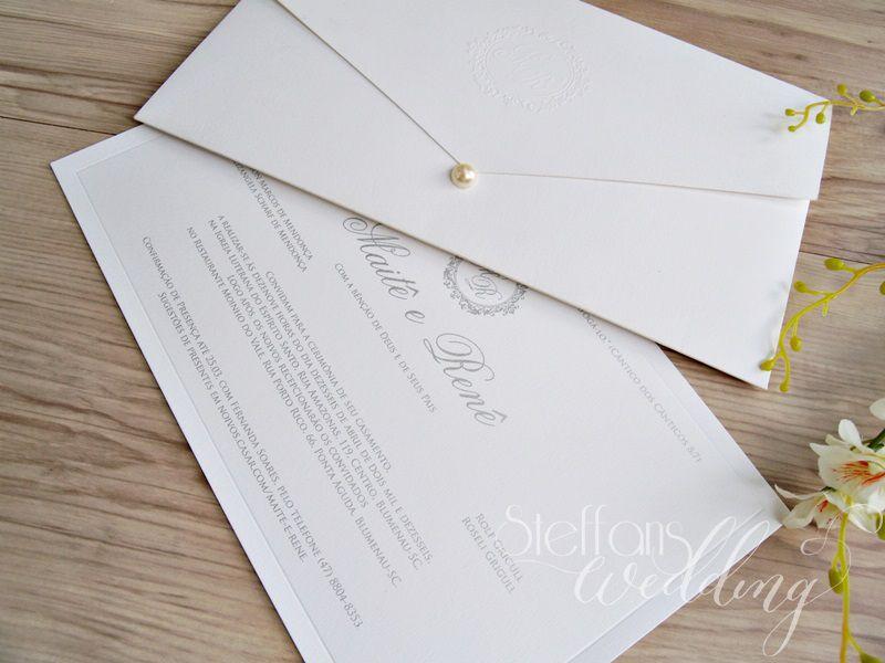 Convite Maitê e Renê