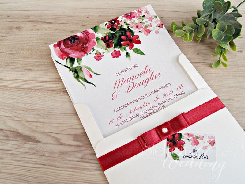 Convite Manoela e Douglas