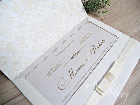 Convite Mariana e Roberto