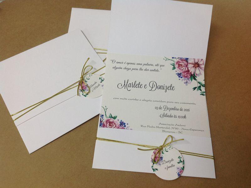 Convite Marlete e Donizete