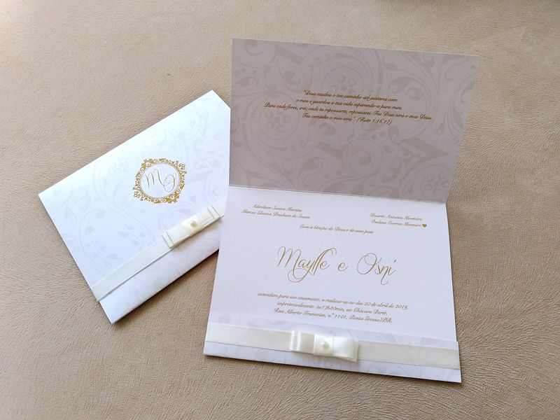 Convite Maylle e Osni
