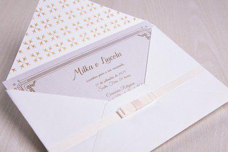 Convite Milka e Lincon