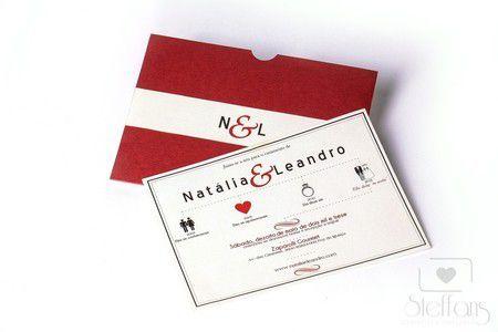 Convite Natália e Leandro