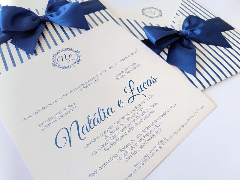 Convite Natália e Lucas