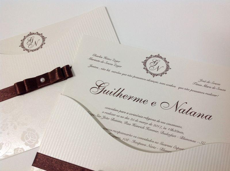 Convite Natana e Guilherme