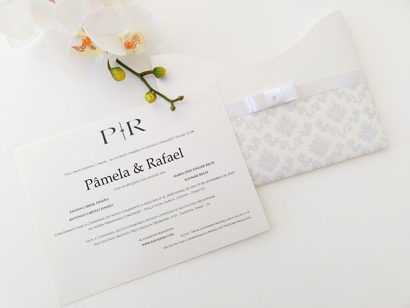 Convite Pamela e Rafael