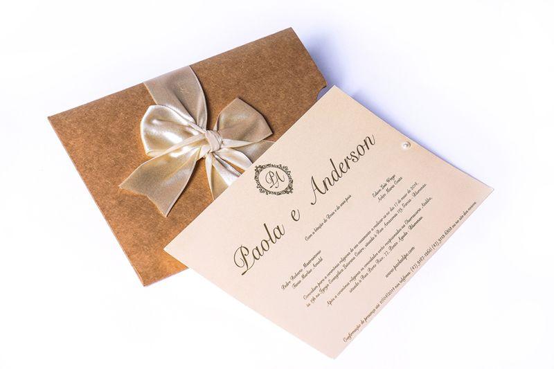Convite Paola e Anderson