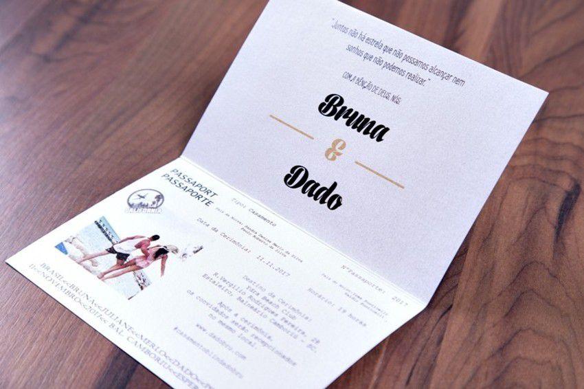 Convite Bruna e Dado