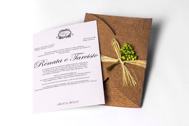 Convite Renata e Tarcisio