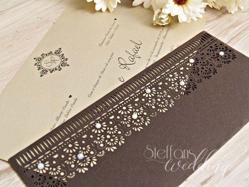 Convite Silvia e Rafael