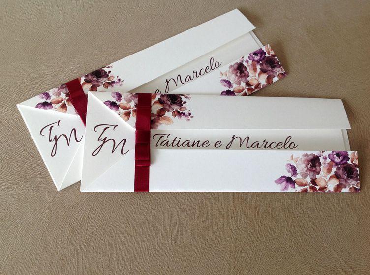 Convite Tatiane e Marcelo