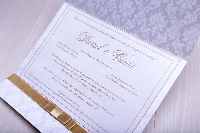 Convite Vânia e Daniel