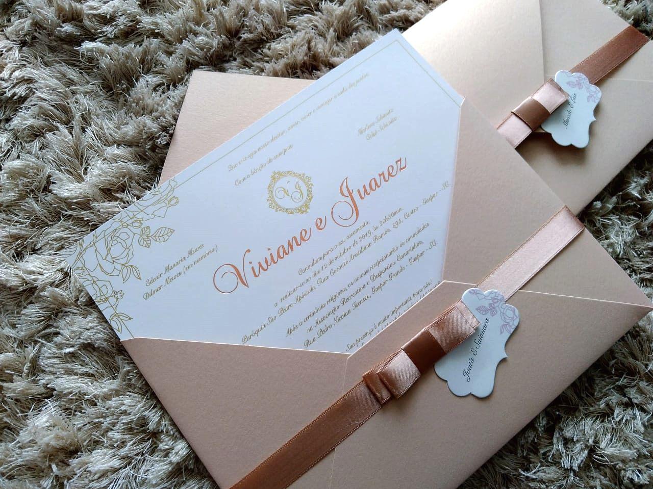 Convite Viviane e Juarez