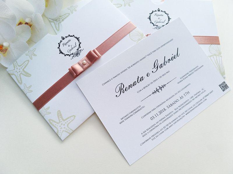 Convite Renata e Gabriel