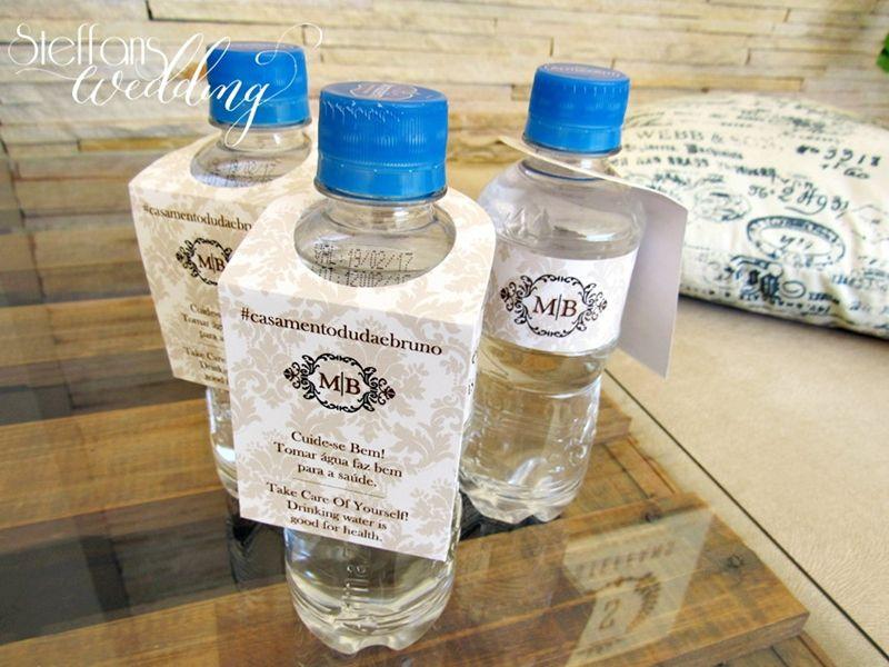Tag para Água Personalizado