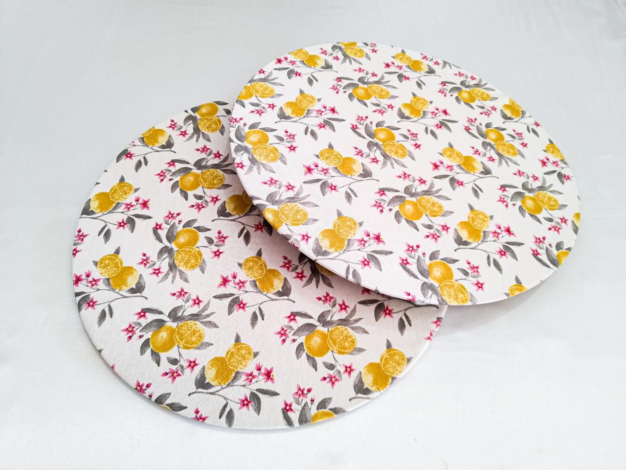 Capa de tecido  Laranjeira