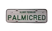 Placa Comercial Branco / Verde