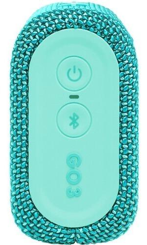 Caixa De Som JBL Go3 Teal Bluetooth 4,2W Original