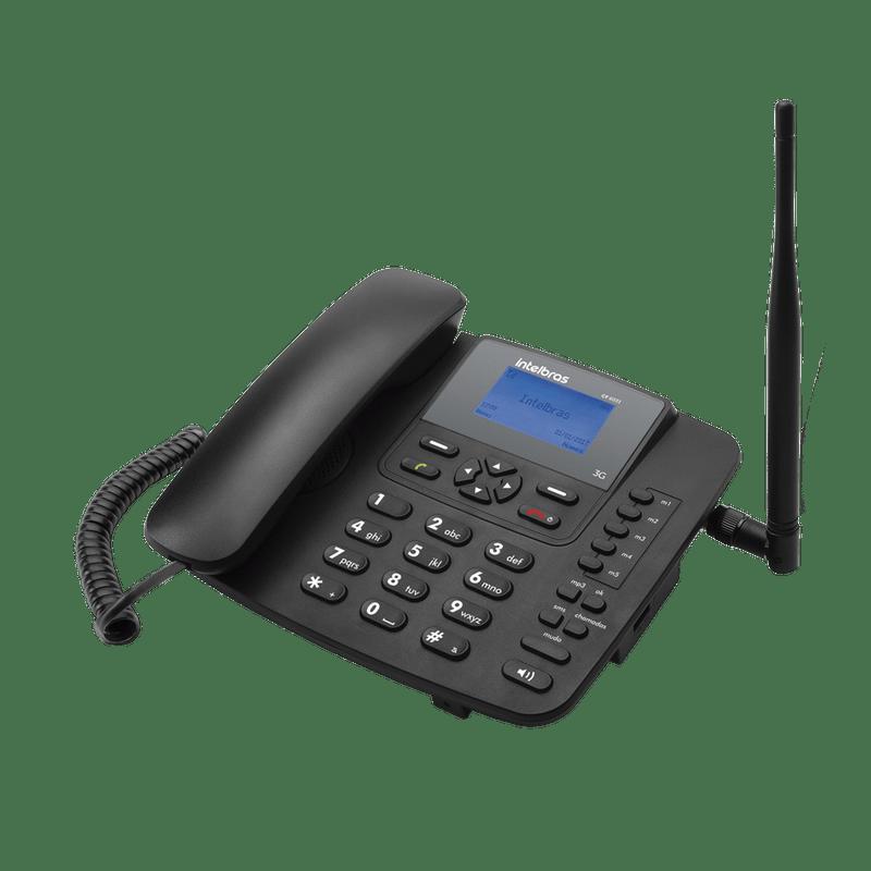 Celular de mesa Rural Fixo Intelbras 3G Cf6031 1 chip