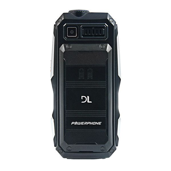 Celular DL Powerphone dual chip gsm função powerbank 4800mah